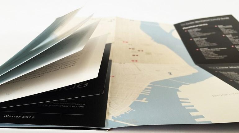 formato brochure
